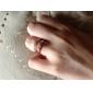 kadın bayan için lureme®zircon alaşım parmak yüzük