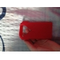 Cool Clothes Soft Silicone Case for iPhone 4 (Red)