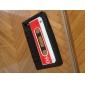 Sarung Pelindung Lembut Corak Kaset Unik untuk iPhone 4/4S