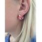 lureme®ladybug forgyldt øreringe (assorterede farver)