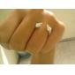 z&X® vintage punk tyyli hopea niitti nuolet sormus