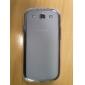 Carcasa Suave en TPU Transparente para el Samsung Galaxy S3 I9300