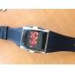 Светодиодные часы унисекс с силиконовым ремешком