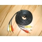 3 to 3 Interface Gold Plated RCA Cable (5 m)