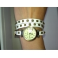 Women's Quartz Analog Vintage Style Leather Bracelet Watch (Assorted Colors) Cool Watches Unique Watches