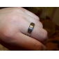 Eruner®The Great Wall Design Titanium Steel Couple Ring