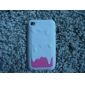 3D Case Design Pattern Ice-Cream souple pour iPod Touch 4 (couleurs assorties)