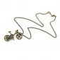 Fashion Retro Bicycle Necklace