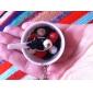 soupe de nouilles en forme de porte-clés (couleurs aléatoires)