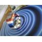 Fler-Farve Murstens Stil Armbåndsur med LED Natte Lys - Gul