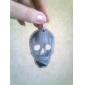 lureme®sheet железа черепа полые серьги