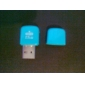 All-in-1 Mini USB Micro SD Card Reader (Random Color)