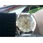 Mulheres Relógio de Moda Quartz PU Banda Preta / Branco / Vermelho / Marrom marca-