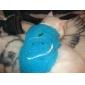 Peine fino de acero inoxidable suave para Mascotas (Azul)