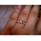 lureme®diamond anillo de cristal completamente tachonado