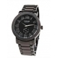 Men's Quartz Analog Black Dial Black Steel Band Wrist Watch Cool Watch Unique Watch