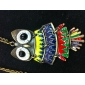 Colourful Matching Owl Vintage Necklace