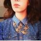 rondini incanta la collana dell'annata del bronzo della collana tono choker