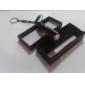 1-mode prueba de agua portable de la linterna led (1xAAA, plata)