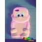 Diseño 3D mono lindo Patrón Funda para iPod Touch 4 (colores surtidos)