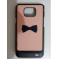 Flash Design Bowknot Pattern Hard Case for Samsung Galaxy S2 I9100