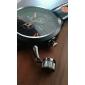 Men's Quartz PU Analog Wrist Watch (Black)