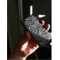 Glittery Zebra Strips Hard Case for iPod Touch 4 (Assorted Colors)