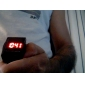 Montre LED Digitale en Caoutchouc, Ecran Tactile, Unisexe - Couleurs Assorties