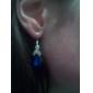 z&X® pendientes de la forma azul gota de agua