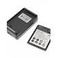 3.7V 2500mAh batterij en USB-oplader voor de Samsung Galaxy S3 I9300