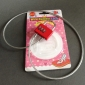 Cartoon lega di alluminio a 3 cifre lucchetto combinazione con 60cm tightwire (colore casuale)