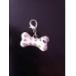 Rhinestone Decorated Bone Style Collar Charms for Dogs Cats