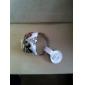 misteriosa máscara anel teste padrão de borboleta