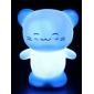 Happy Cat Style Night Light (Random Color)