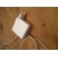 eu ac plugg for MacBook Air pro (hvit)