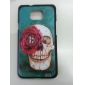 Fryktelig Skull Mønster Hard Case for Samsung Galaxy S2 I9100
