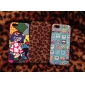 Cartoon Design Girl Pattern Hard Case for iPhone 5/5S