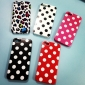 Dots Pattern Soft Case for iPhone 5/5S (Assorted Colors)