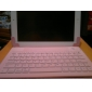 PU Leather Case with Silicone Bluetooth Keyboard & Stand for iPad 2/3/4 (White)