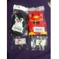 Joyland cartoon kat hoofd rubberen anti-stof koptelefoon aansluiting