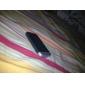 anti-ripe speil skjermbeskytter med pusseklut for iphone 4 og 4S