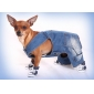 Denim Style Trousers for Dogs (XS-XXL, Blue)