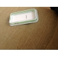 Прозрачный бампер с металлическими кнопками для  iPhone 4 и 4S
