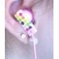 bulles de couleur kanen dans l'oreille des écouteurs magnétiques