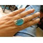 The Blue Opal Anillo