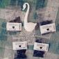 Swan Shaped Teaspoon Tea Strainer (Random Color)