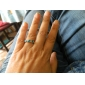 Emerald Ring Sweet Diamond Ring
