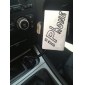 Supporto regolabile da auto con caricatore USB per iPhone e Samsung Galaxy S3 I9300