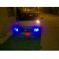 T10 1W 5x5050 SMD Blue Light LED pære til bil (2-Pack, 12V)