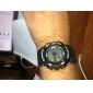 Miesten Watch urheilu digitaalinen monikäyttöinen silikoni hihna
